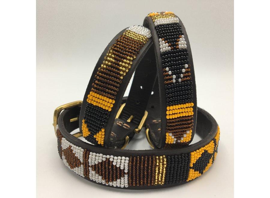 Beaded Dog collar Zaza