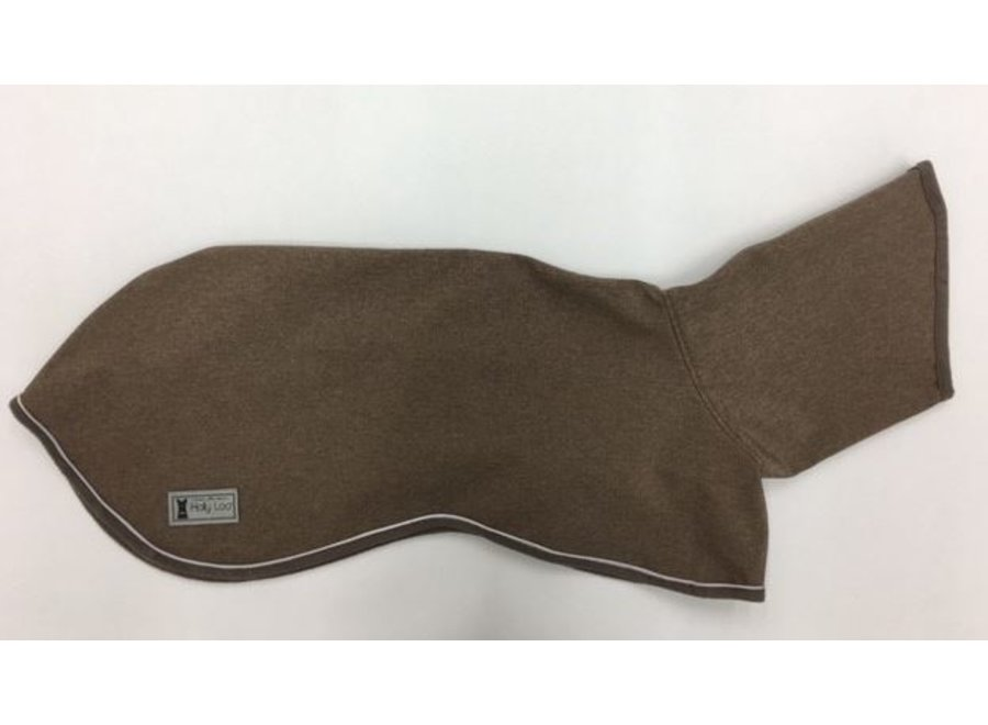 Raincoat for greyhounds Taupe