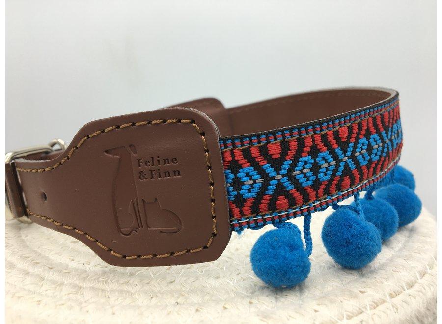 Fiesta pompón azul M