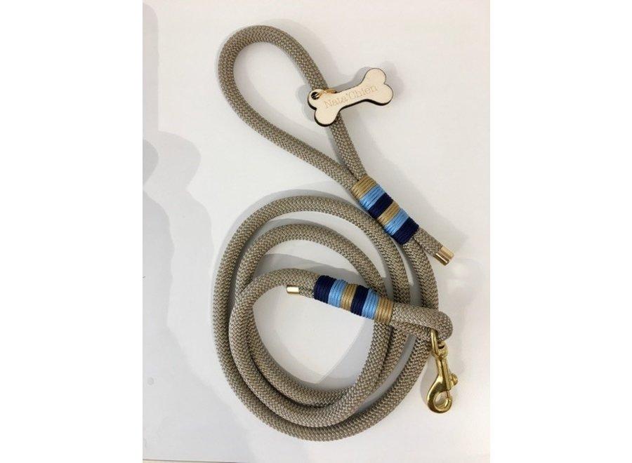 Leiband touw beige