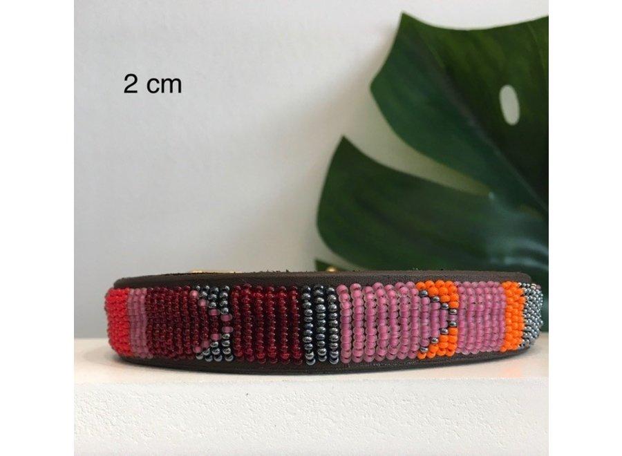 Beaded Dog collar Maya