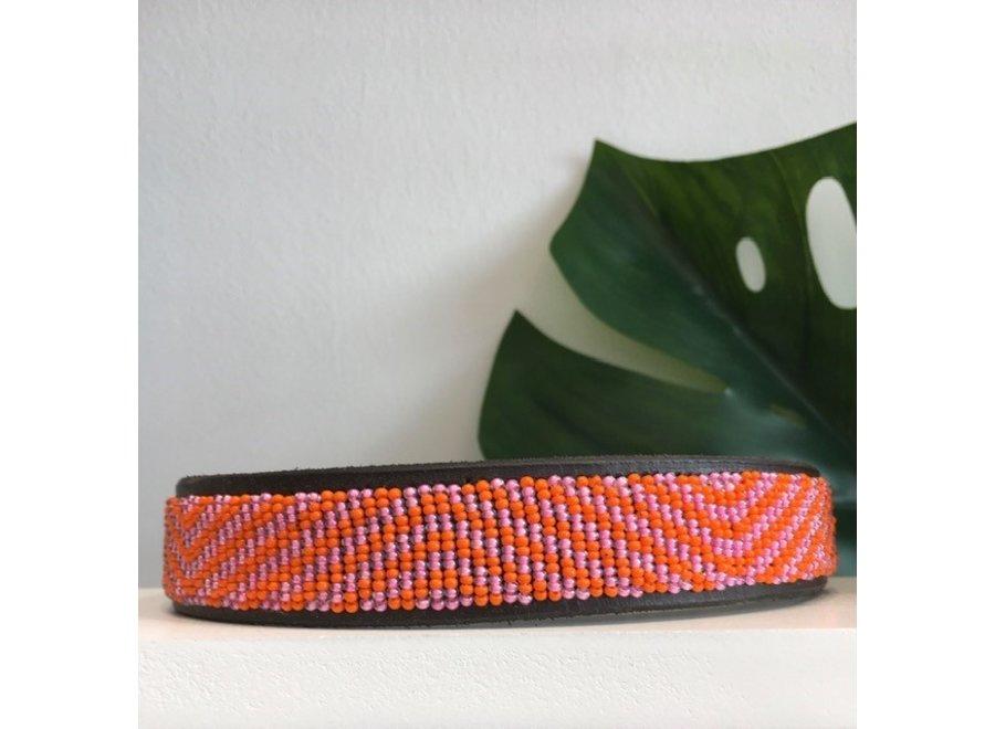 Beaded Dog collar Giulia