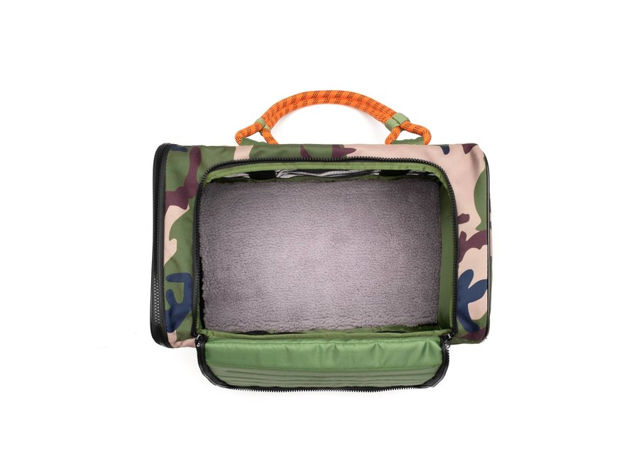Camouflage Airline Compliant Pet Carrier