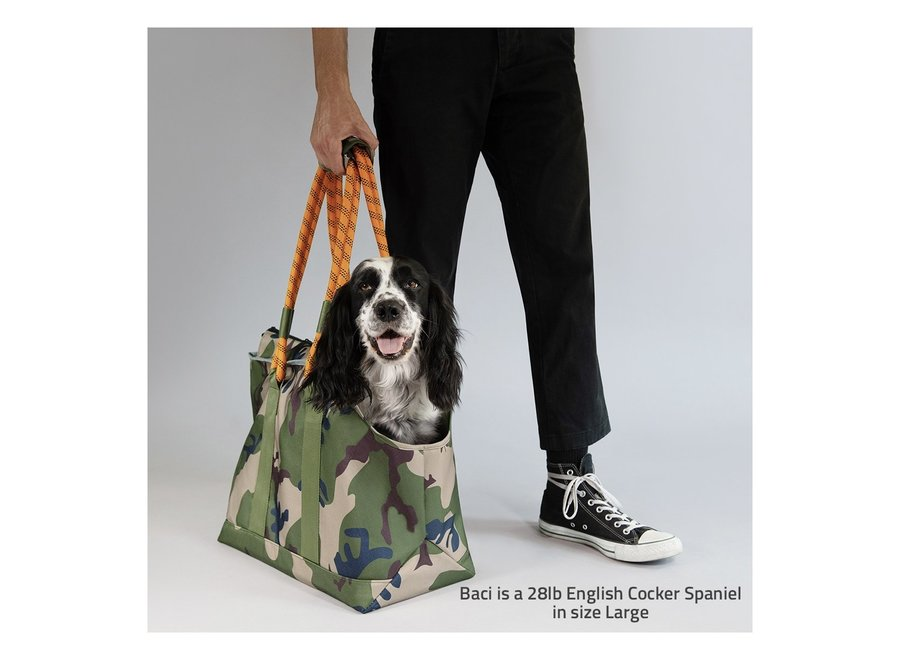 Camouflage Pet Tote
