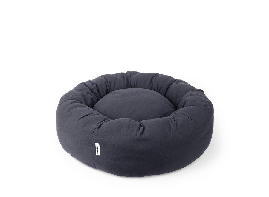 Donut bed Warm grijs