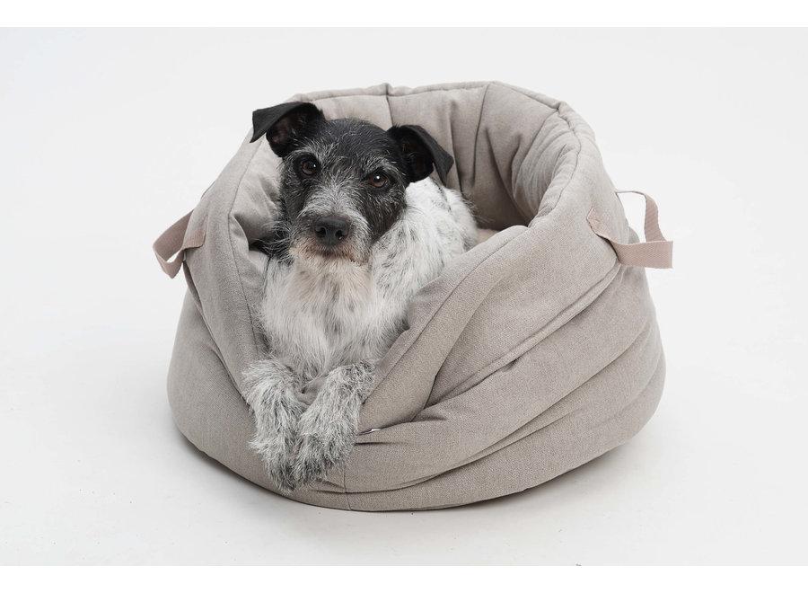 Dog/Cat basket Shopper beige