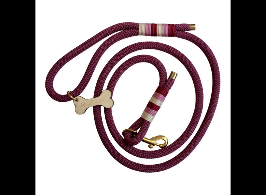 Lead rope aubergine