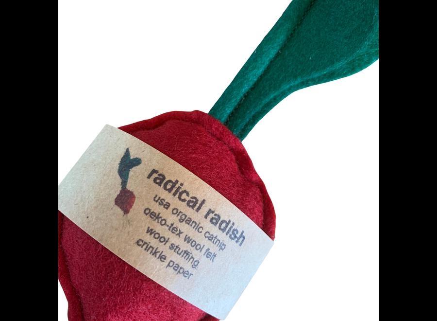 Woolen Crunchy Catnip Radish