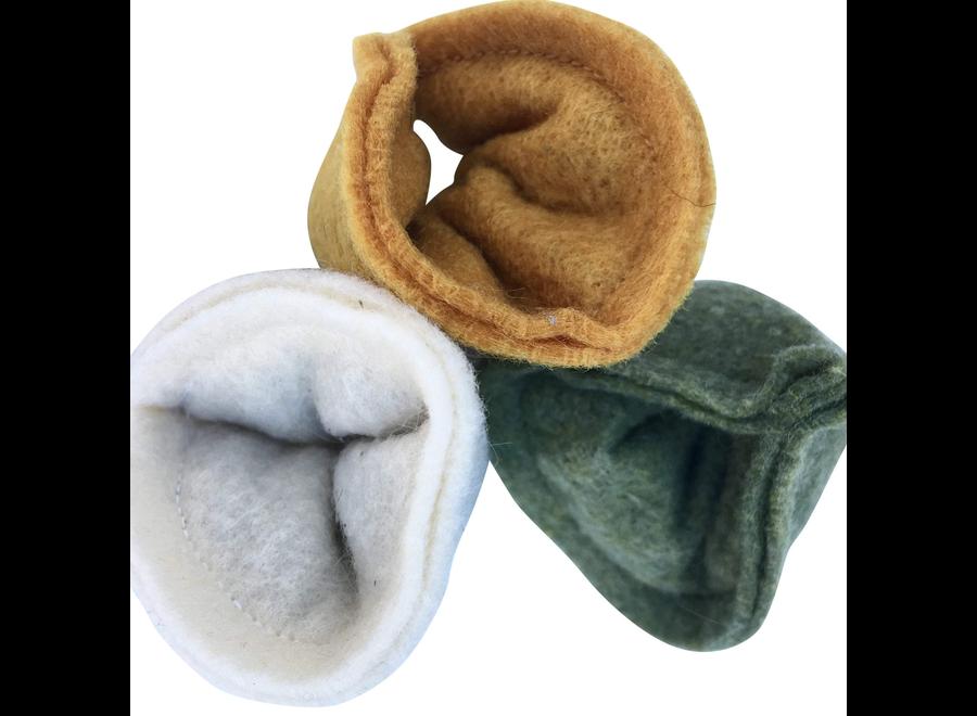 Wool Felt Catnip Tortellini