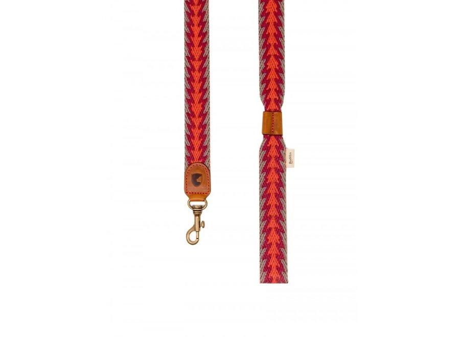 Peruvian Arrow orange dog lead