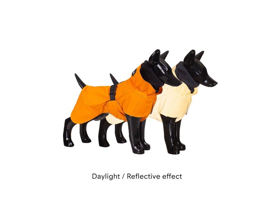 Raincoat reflective Orange