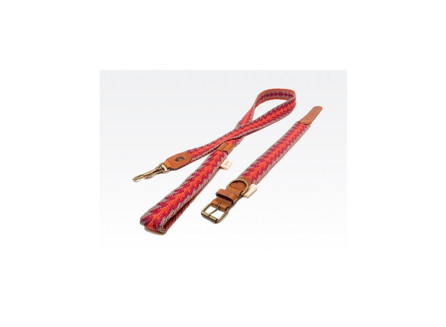 Peruvian Arrow  orange halsband