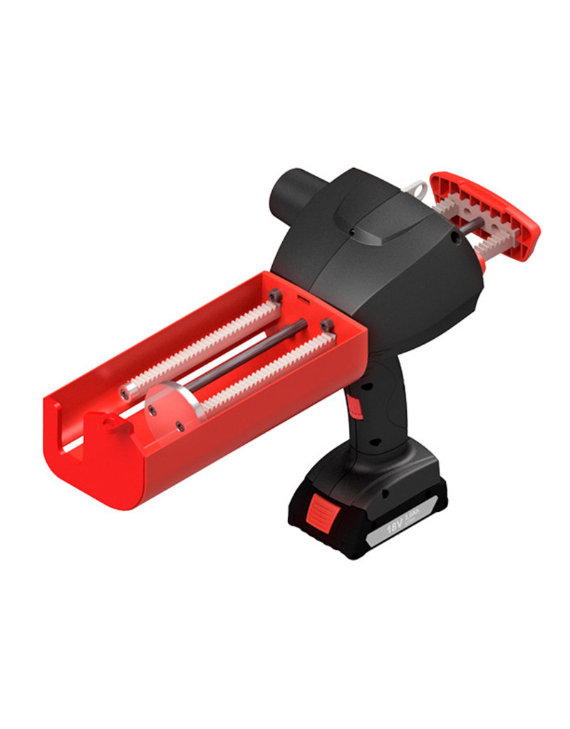MK Sulzer B998-M - 2K Batterij Pistool 825ml 10:1 koker