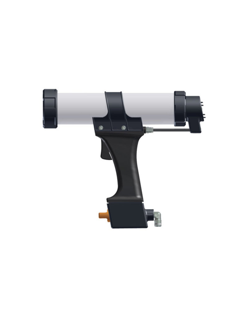 Cox AirFlow-2-Cartridge - 1K Luchtdruk Pistool 310ml kokers