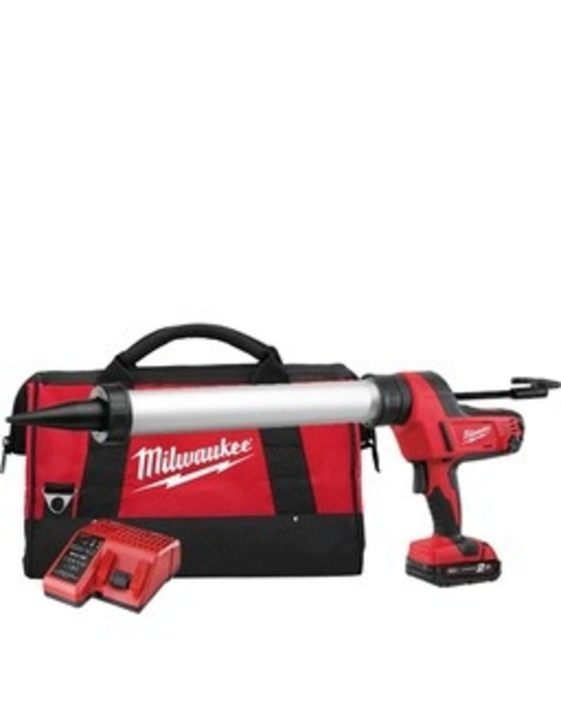 Milwaukee C18 PCG/600A-201B - 1K Batterij Pistool (Set) 600ml worsten