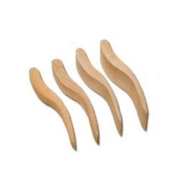Afwerkspatel houtjes (10 Stuks)