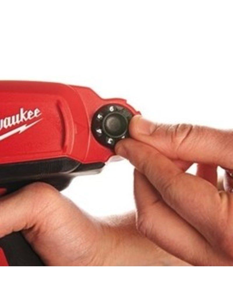 Milwaukee M12 PCG/400A-201B - 1K Batterij Pistool voor 400ml worsten
