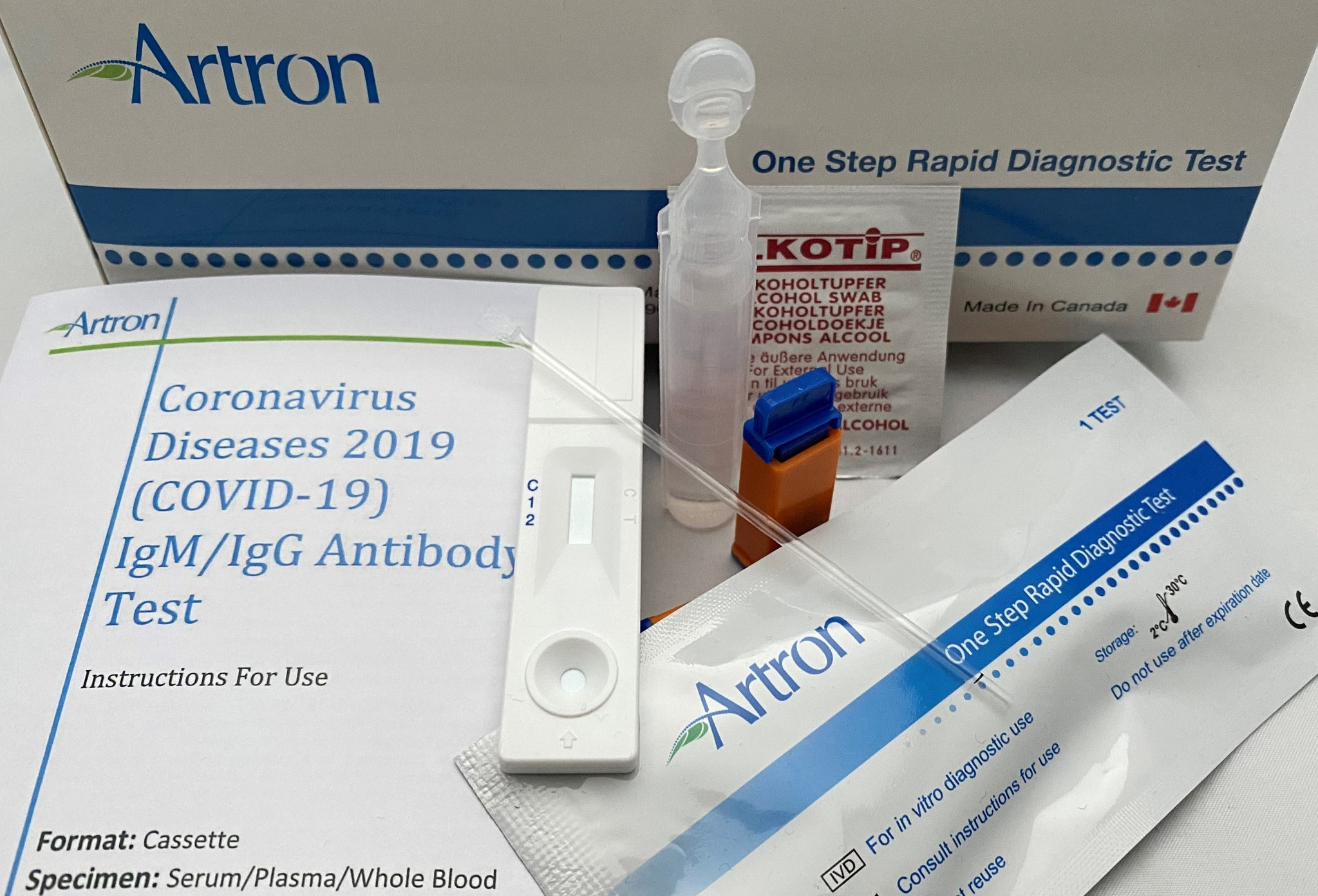 COVID-19 IgM IgG Rapid Test Kit | Coronavirus (COVID-19