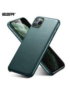 ESR ESR - telefoonhoesje - Apple iPhone 11 - Metro Leather - Groen