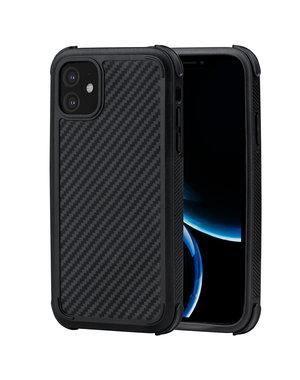Pitaka - MagEz Case Pro - Apple iPhone 11 - Twill-patroon (zwart)