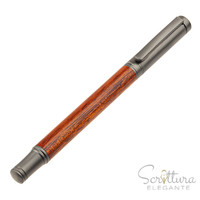tm2 fountainpen - Rosewood/gunmetal