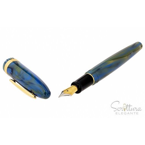 Laban Laban fountain pen Taroko - Sunrise Blue