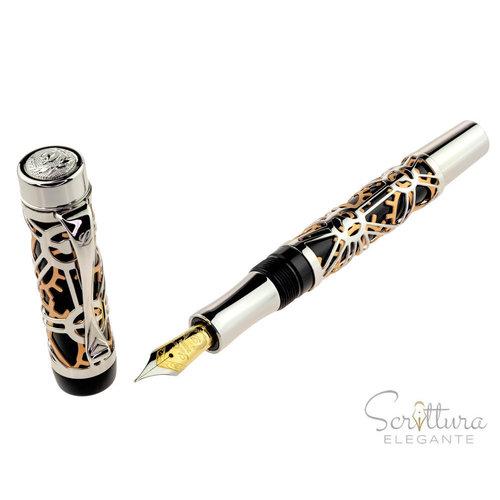 Laban Laban fountain pen - Galileo - black