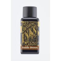 Diamine vulpen inkt Saddle Brown