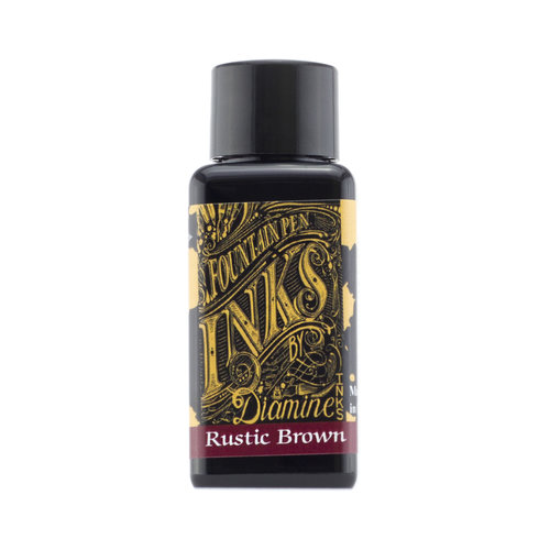 Diamine Diamine vulpen inkt Rustic Brown