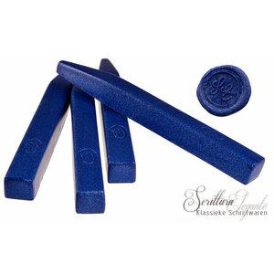 Bortoletti Lakstaaf van soepele was - Metallic Blauw