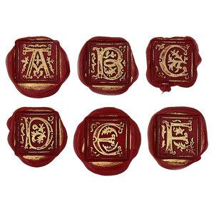 Bortoletti Wax seal Gothic Letter