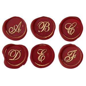Bortoletti Wax seal - English cursive