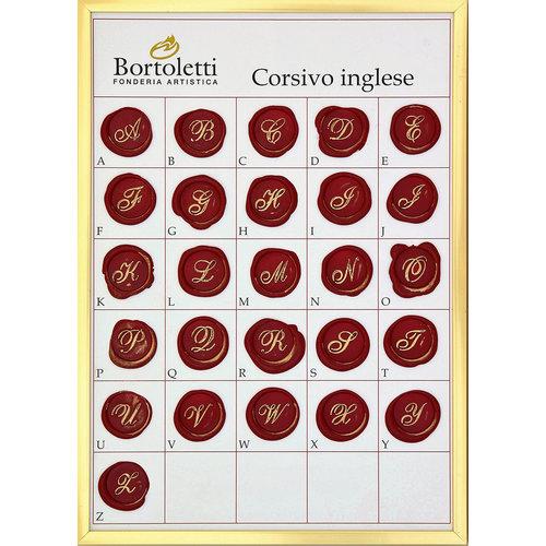 Bortoletti Wax seal - English cursive