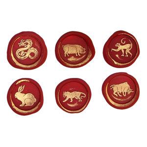 Bortoletti Wax seal symbols - Chinese zodiac 1