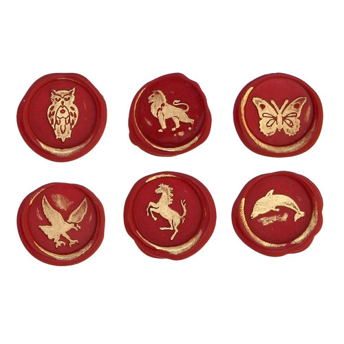 Bortoletti Wax seal symbols - Animals 1