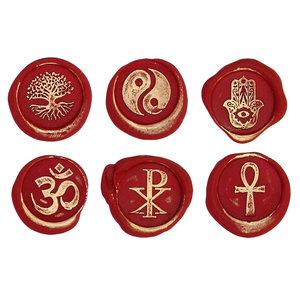 Bortoletti Wax seal symbols - Religion