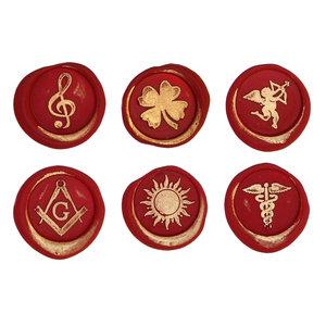 Bortoletti Lakzegel symbolen - Algemeen 1