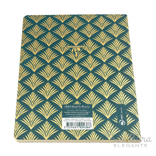 Clairefontaine Clairefontaine - Neo Deco - A5 - Vegetal