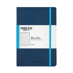 Endless Notebooks Deep Ocean - Gelinieerd