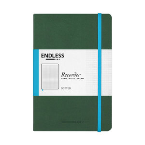 Endless Notebooks Endless Recorder - Dotted - Forest Canopy