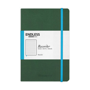 Endless Notebooks Endless recorder - Forest Canopy - Lined