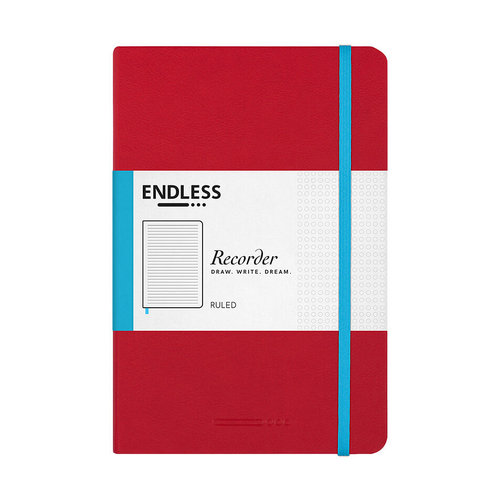 Endless Notebooks Crimson Sky - Lined