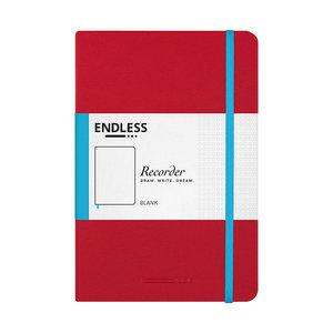 Endless Notebooks Endless recorder - Crimson Sky - Blanco