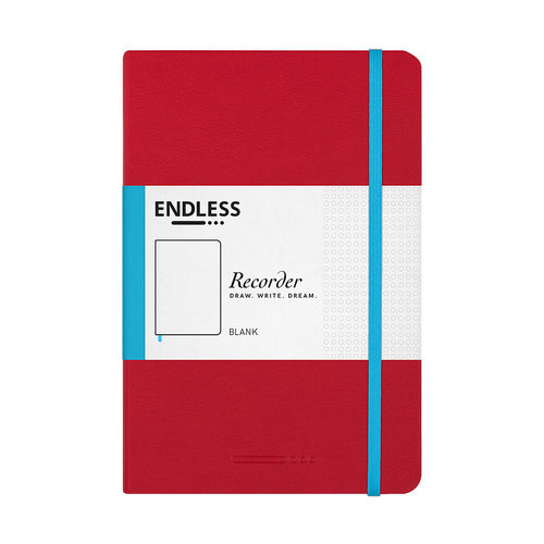 Endless Notebooks Crimson Sky - Blanco