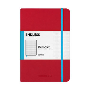 Endless Notebooks Crimson Sky - Dotted
