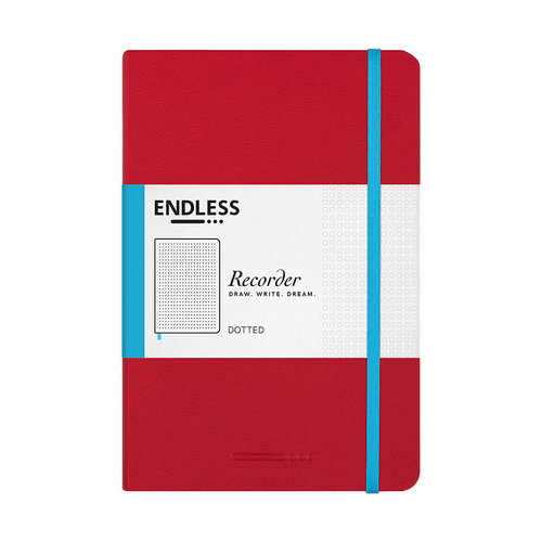 Endless Notebooks Endless Recorder - Dotted - Crimson Sky