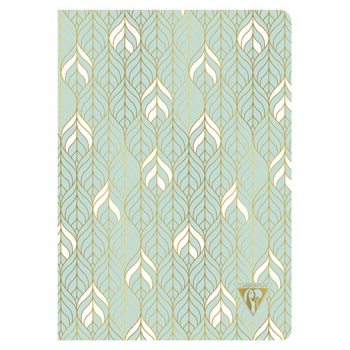 Clairefontaine Clairefontaine - Neo Deco - Liane - sea green