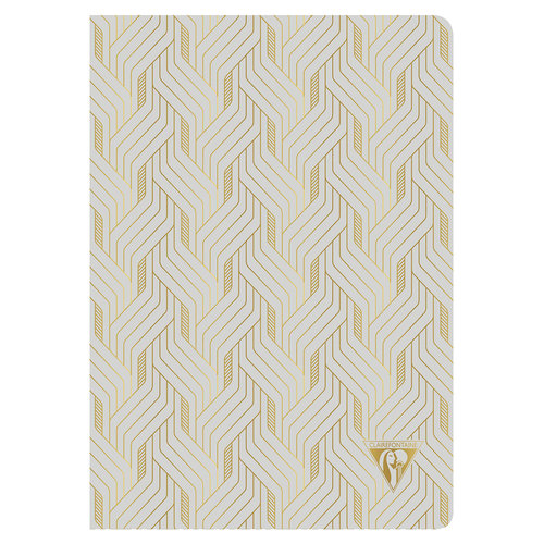Clairefontaine Clairefontaine - Neo Deco - Mirage - pearl grey
