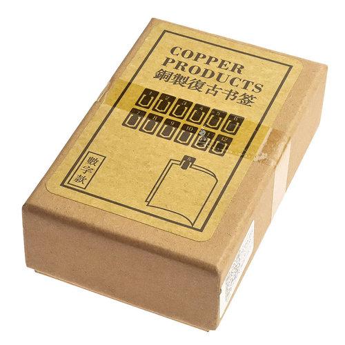 Scrittura Elegante Boekenlegger set 12 maanden