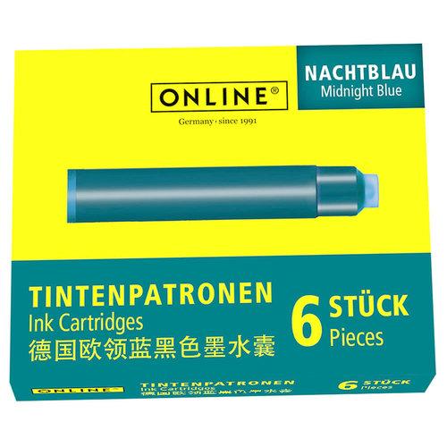 ONLINE Inkt cartridges ONLINE - Nightblue